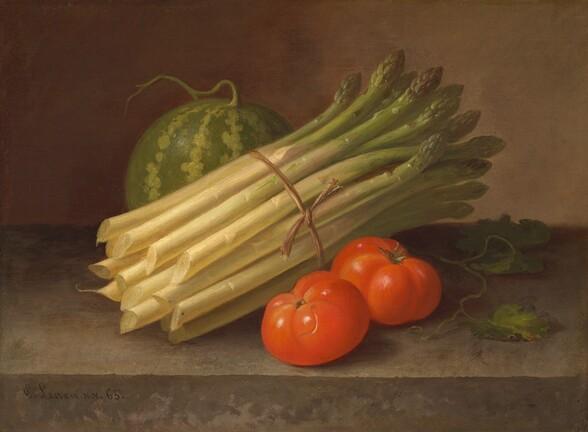 Asparagus, Tomatoes, and a Squash