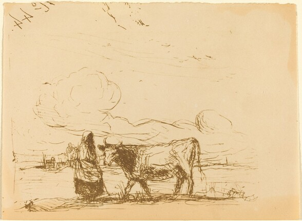 Cow and Its Keeper (La Vache et sa gardienne)