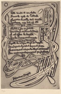 Poem by Jacques-Henri Lévesque