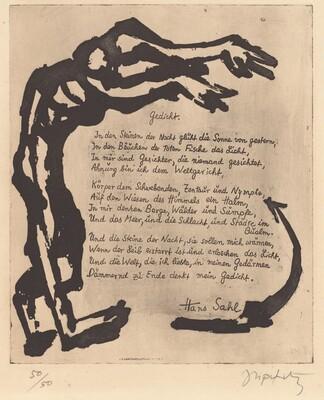 Gedicht (Poem)