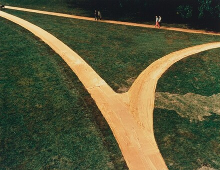 Wrapped Walkways, Loose Park, Kansas City, 1977-1978