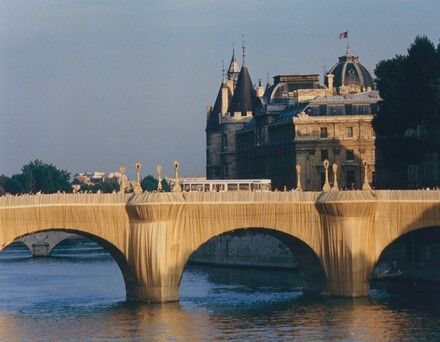 The Pont Neuf Wrapped, Paris, 1975-1985