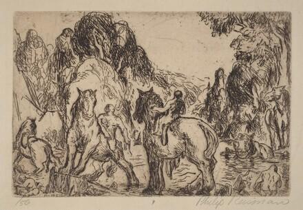 Splashing Horses