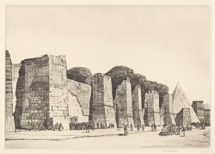 The Aurelian Walls, Rome