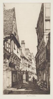 La Rue Mirebeau, Bourges