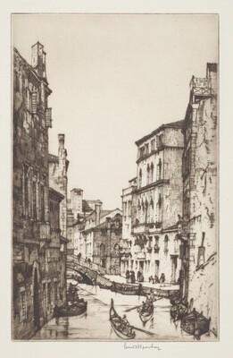 Tintoretto's House in the Rio della Sensa, Venice
