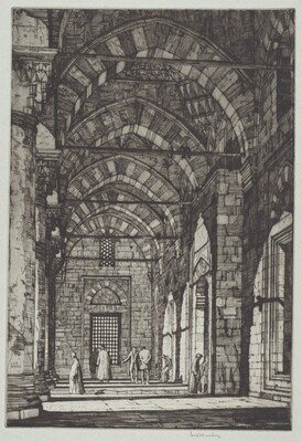Mosque of Sultan Bayazid, Constantinople