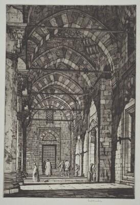 Mosque of Sultan Bayazid, Constantinople