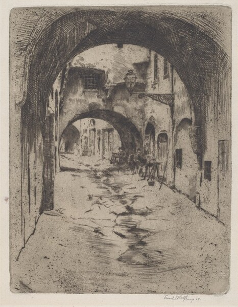 Covered Street, Florence