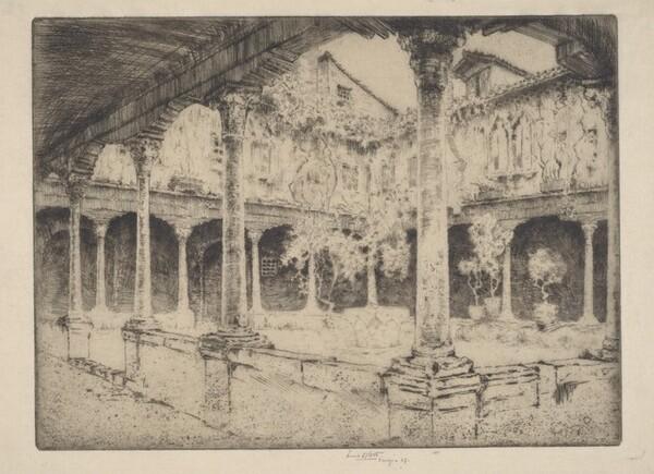 A Cloister, Venice