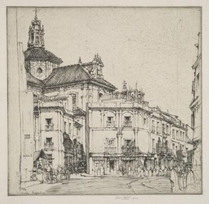 Sevilla - Church of the Magdalena