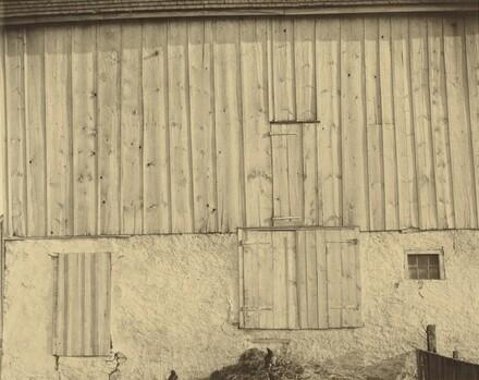 Side of White Barn
