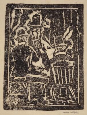 Three Figures Reading