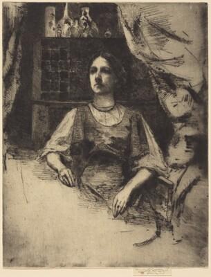 Portrait of Mrs. A. Melville