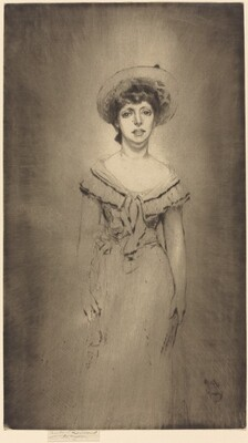 Portrait of Miss Hetty Pettigrew
