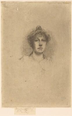 Portrait of Miss Edith Austen