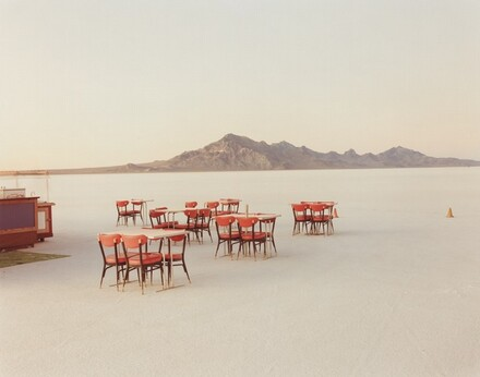 Outdoor Dining, Bonneville Salt Flats, Utah