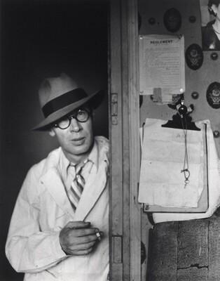 Henry Miller in My Doorway, Hôtel des Terrasses, Paris