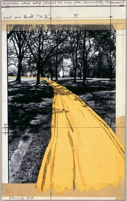 Wrapped Walk Ways, Project for Loose Park, Kansas City, Missouri