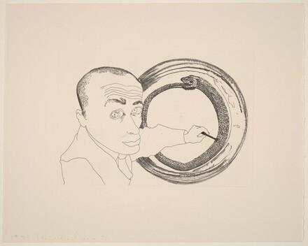 Self-Portrait #4 (Snake)
