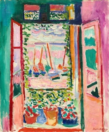 Henri Matisse, Open Window, Collioure, 19051905