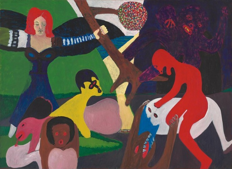 African American Artists Collection Highlights - Physical movement turned amazing art