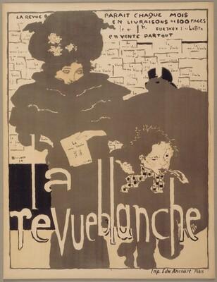 Poster for La Revue blanche