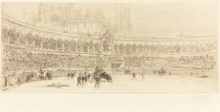 A Bull Fight, Seville