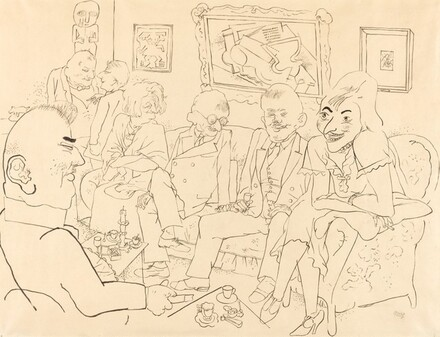 In The Drawing Room [The Art Critics]