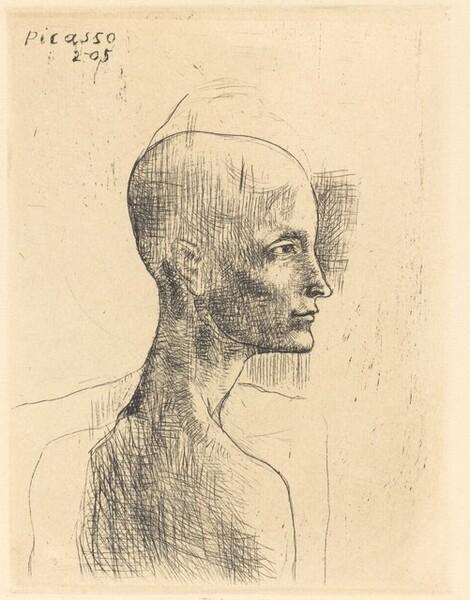 Head of a Man (Buste d'Homme)