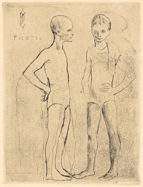 The Two Acrobats (Les Deux Saltimbanques)