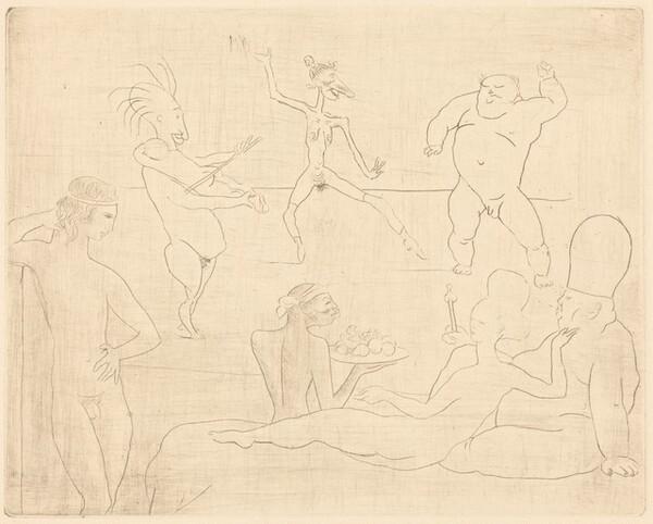 The Barbaric Dance (Before Salome and Herod) [La Danse Barbare (Devant Salomé et Hérode)]