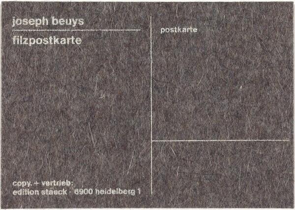 Filzpostkarte (Felt Postcard)