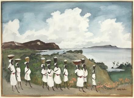Haitian Procession