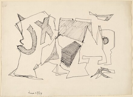 Drawing for June 18, 1954