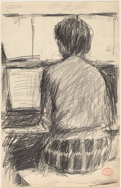 Untitled [woman playing the piano]