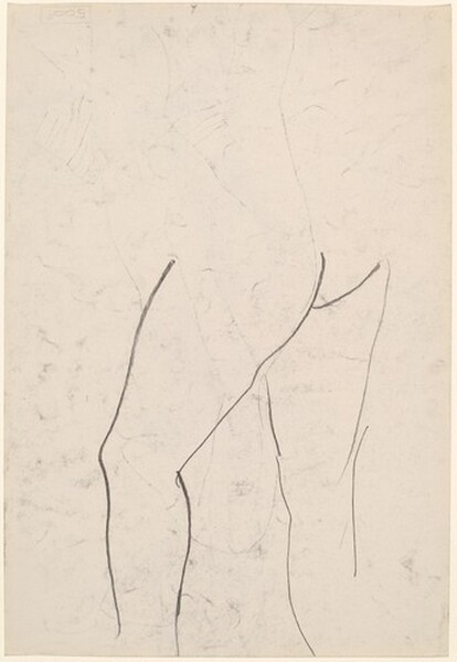 Untitled [study of woman's legs]