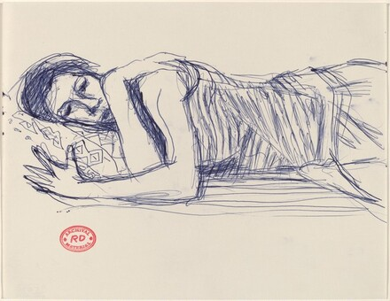 Untitled [sleeping woman]