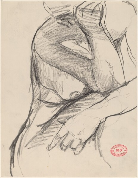 Untitled [torso of female nude]