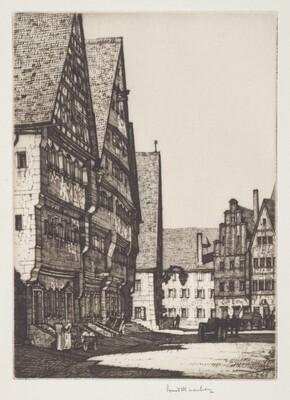 Dinkelsbuehl Houses
