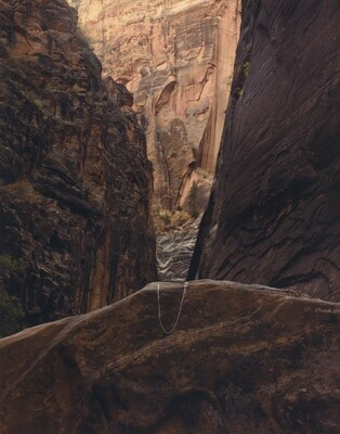 Altered Landscape: Canyon Point, Zion National Park, Utah