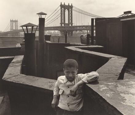 Boy on a Roof, Pitt Street, New York