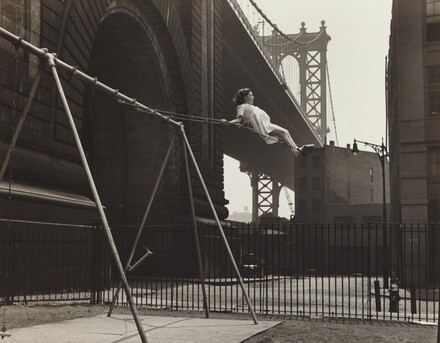 Girl on a Swing, Pitt Street, New York