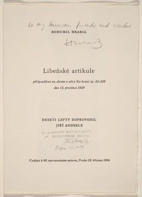 Libenské Artikule