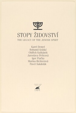 Stopy Zidovství (Legacy of the Jewish Spirit)