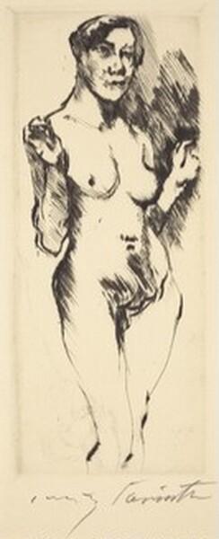 Stehende Weibliche akte (Standing Female Nude)