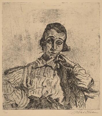 Portrait of Miss N. (Miss Nenninger V)