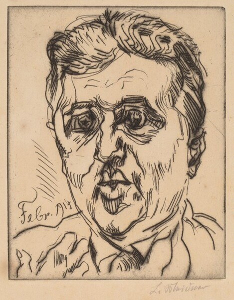Portrait of Israel Ber Neumann