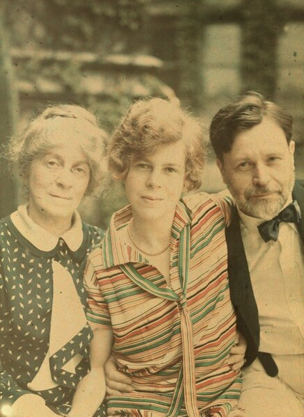 Georgia Engelhard with Agnes Stieglitz and George Herbert Engelhard