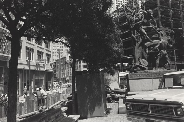 Mechanics' Monument. San Francisco, California